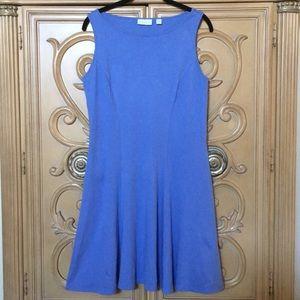 New York and Company blue A-line dress sz M nwot